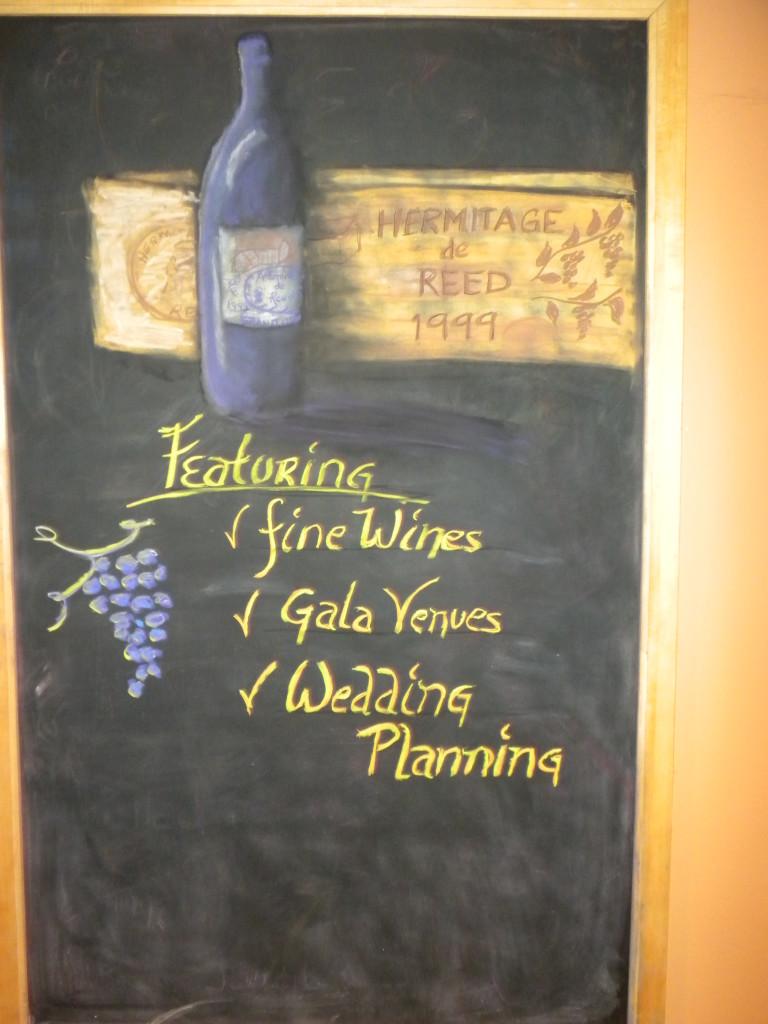 Hermitage Chalkboard