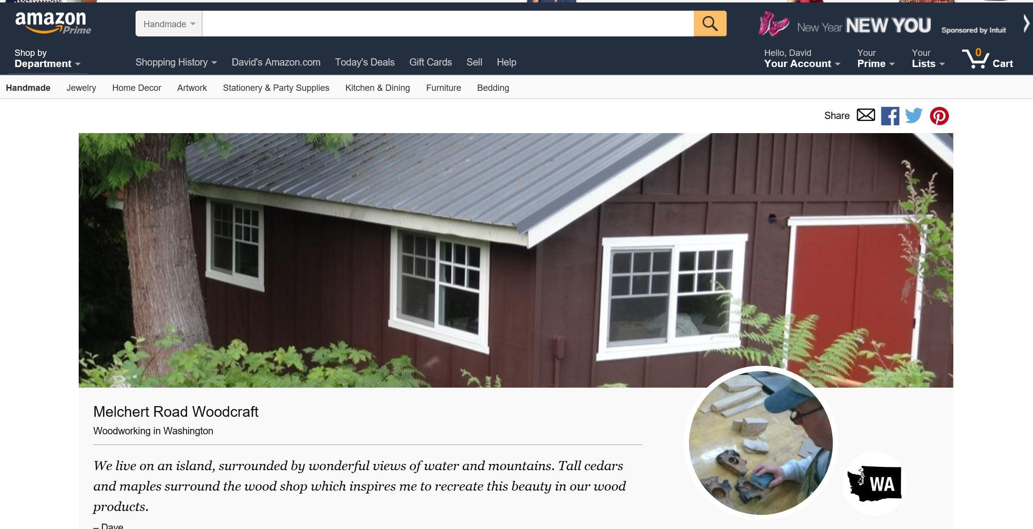 Now Online Shop On Amazon Melchert Road